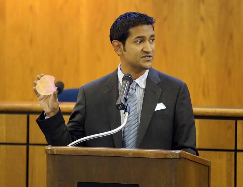 AKHAN Semiconductor Founder Adam Khan