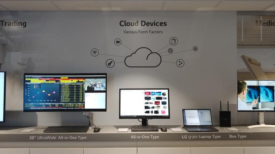 LG Cloud Device Line up