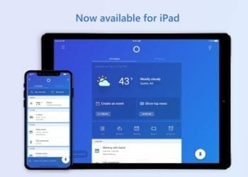 Microsoft Cortana available for iPhone X and iPad