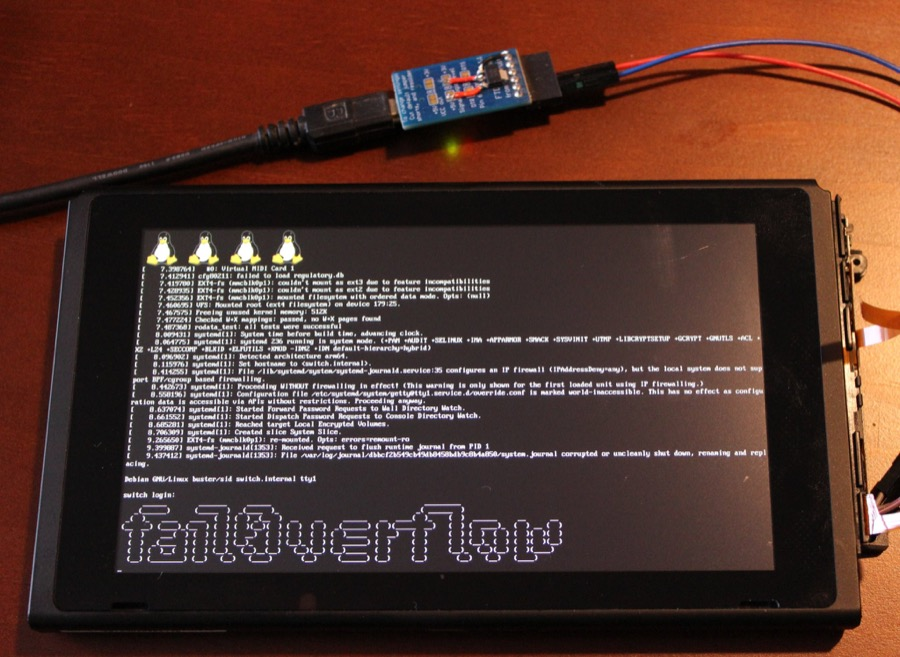 Nintendo Switch hacked to run Linux
