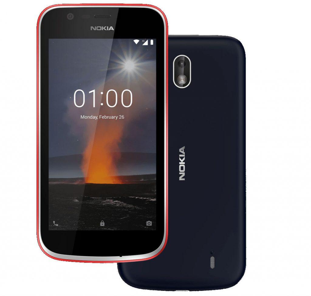 Nokia 1 colors