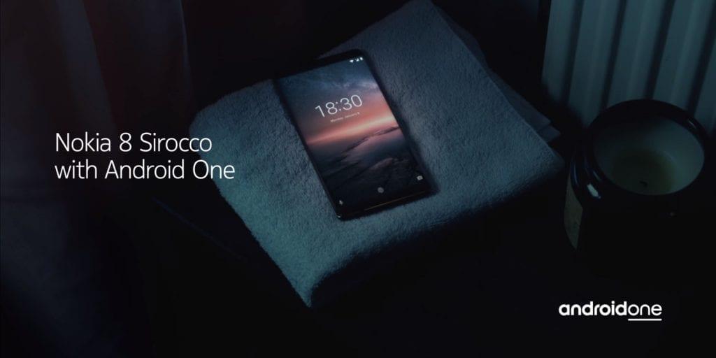 Nokia 8 Sirocco hero