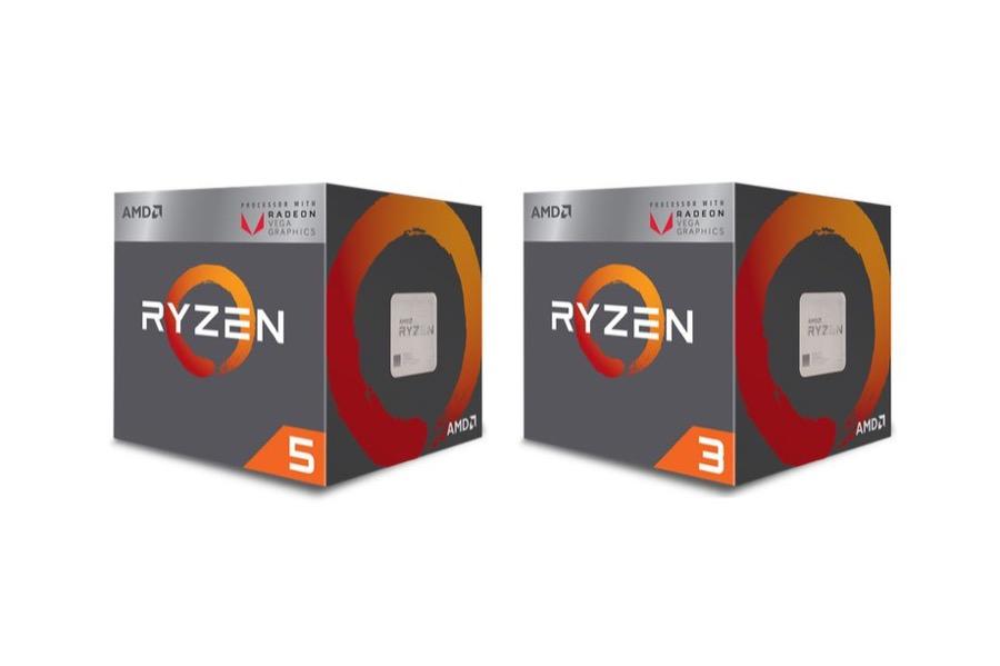 Ryzen Desktop Processors with Radeon Vega Graphics