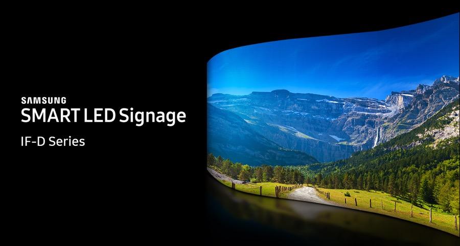 Samsung ISE 2018 IF DLED SIGNAGE