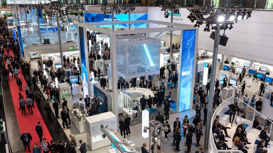 Siemens Hannover Messe 2017a