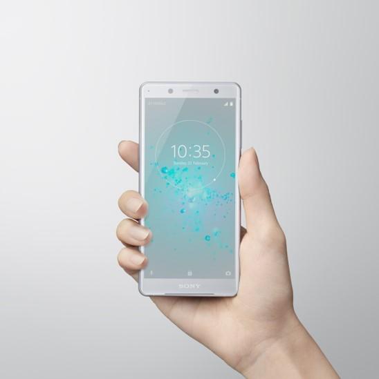 Sony Xperia XZ2 Compact White Silver