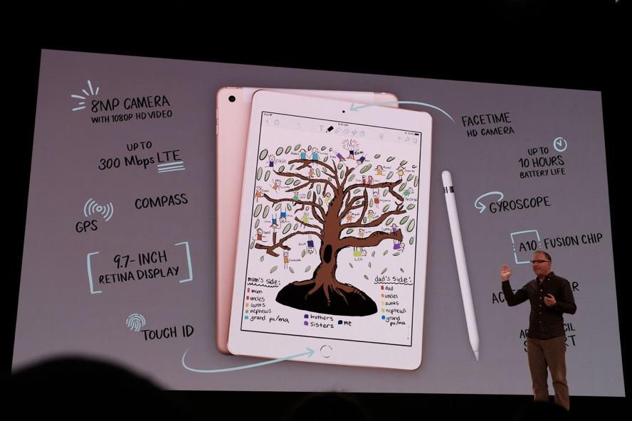 Apple iPad 2018 specs