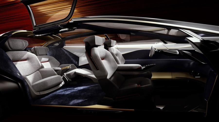 Aston Martin Lagonda Vision inside