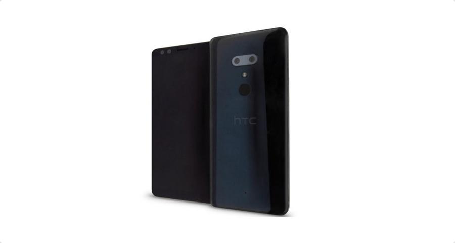 HTC U12+ render leak