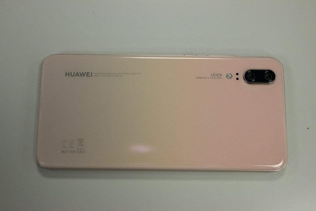 Huawei P20 pink