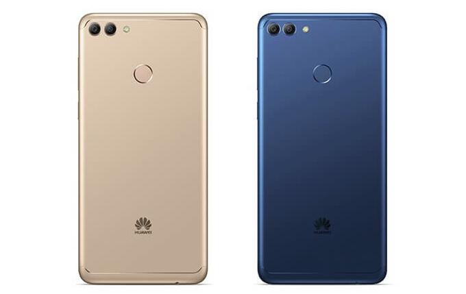 Huawei Y9 (2018) gold blue