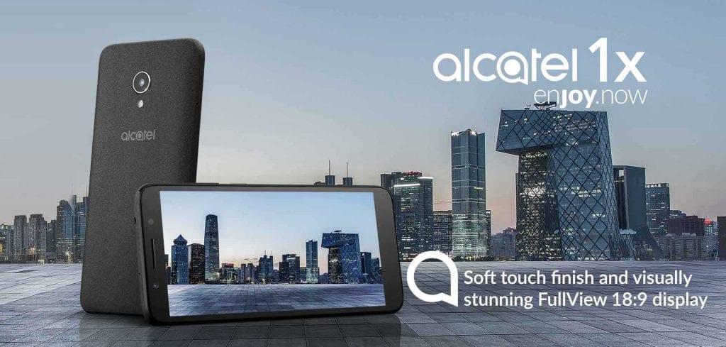 TLC Alcatel 1X