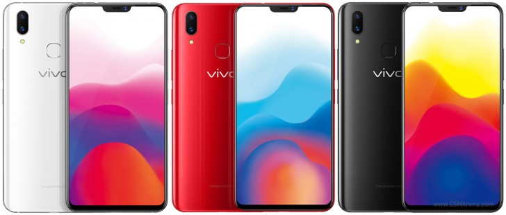 Vivo X21 colors