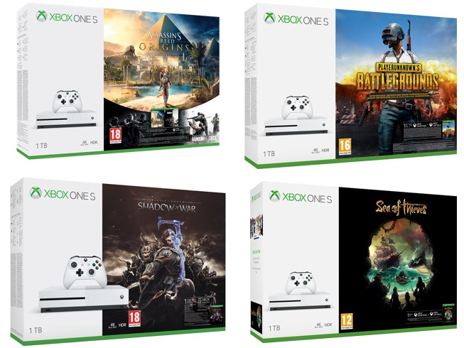Xbox One S Easter 2018 Bundles