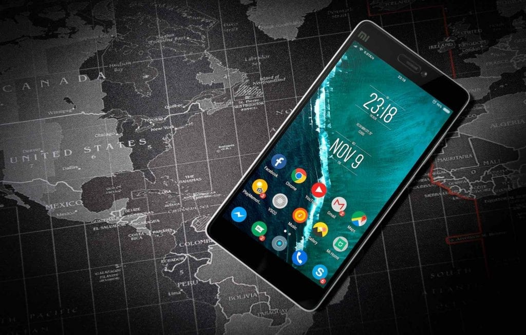 Xiaomi Android smartphone