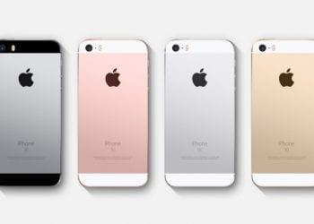 iPhone SE colors