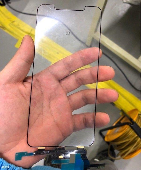 iPhone X Plus screen leak
