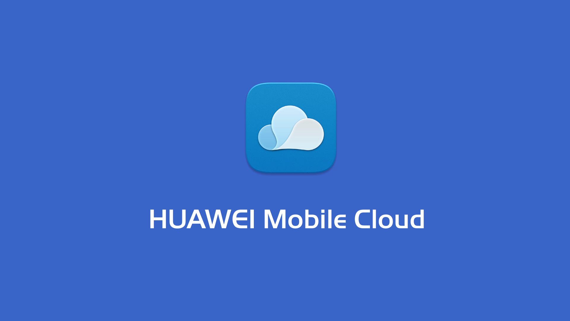 Huawei Mobile Cloud logo