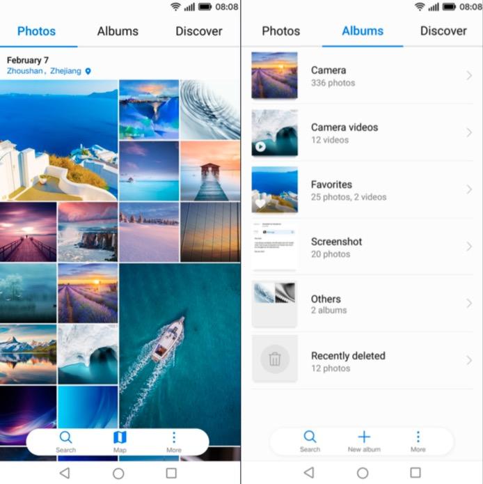 Huawei Mobile Cloud photos