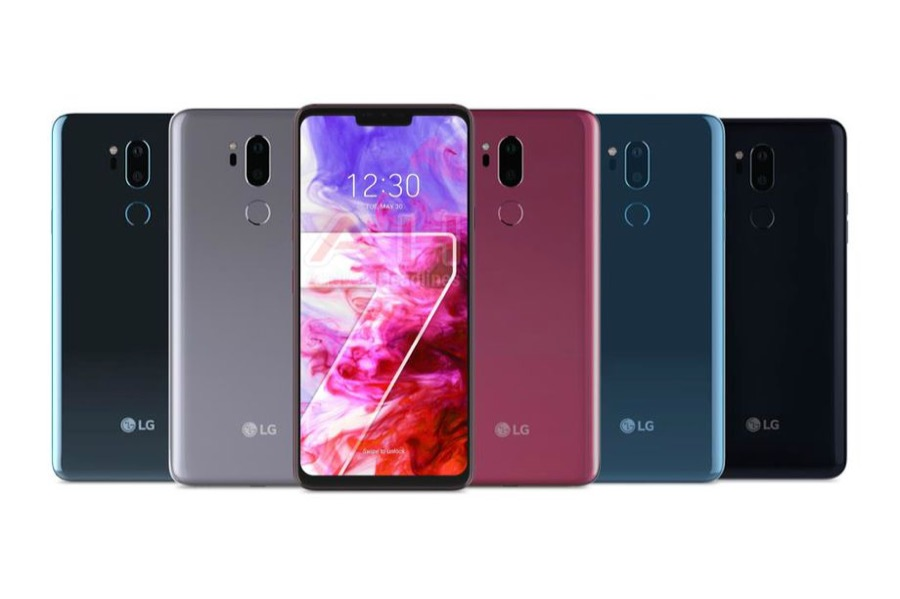 LG G7 ThinQ leak