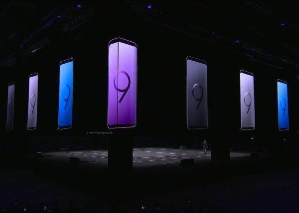 Samsung Galaxy S9 Press Event