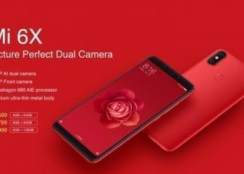 Xiaomi Mi 6X hero