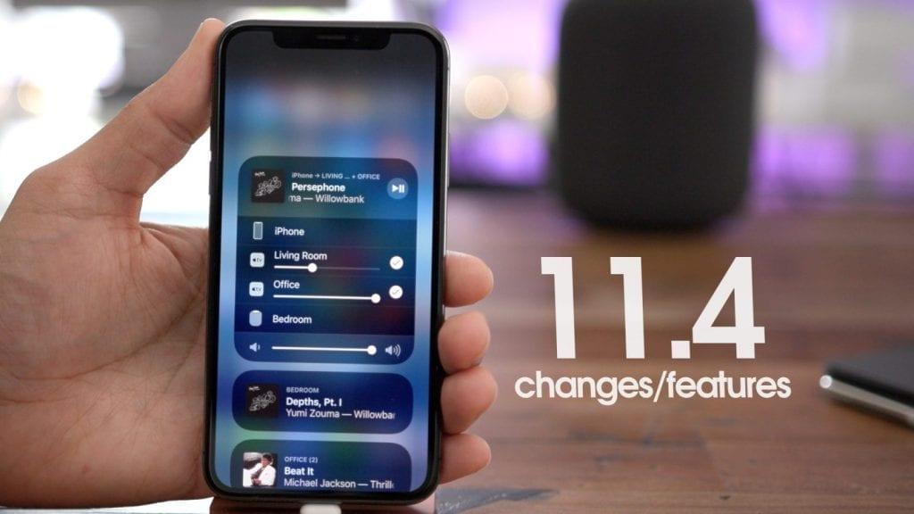 Apple iOS 11.4 1024x576