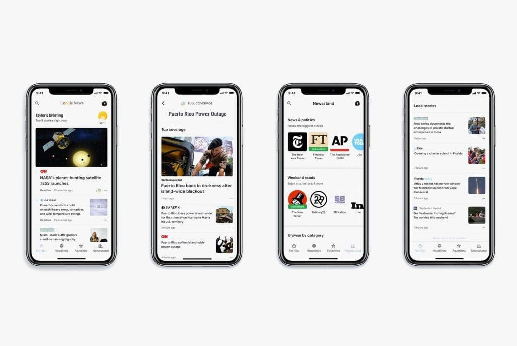 Google News 2018
