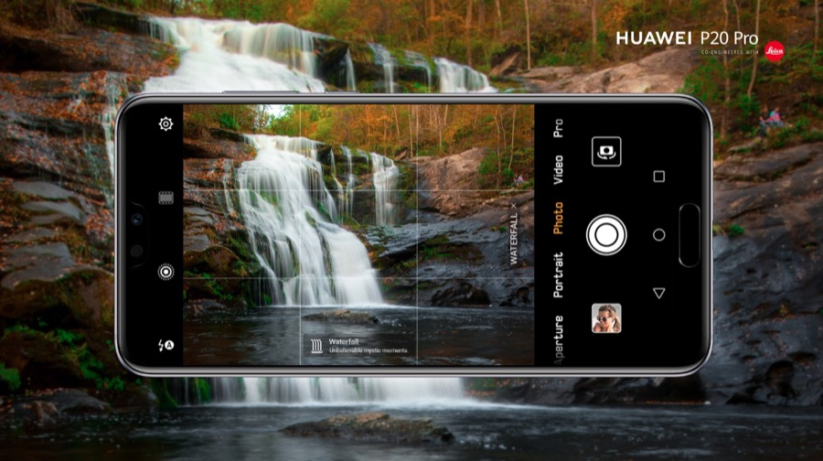 Huawei P20 Pro EMUI 8.1 camera