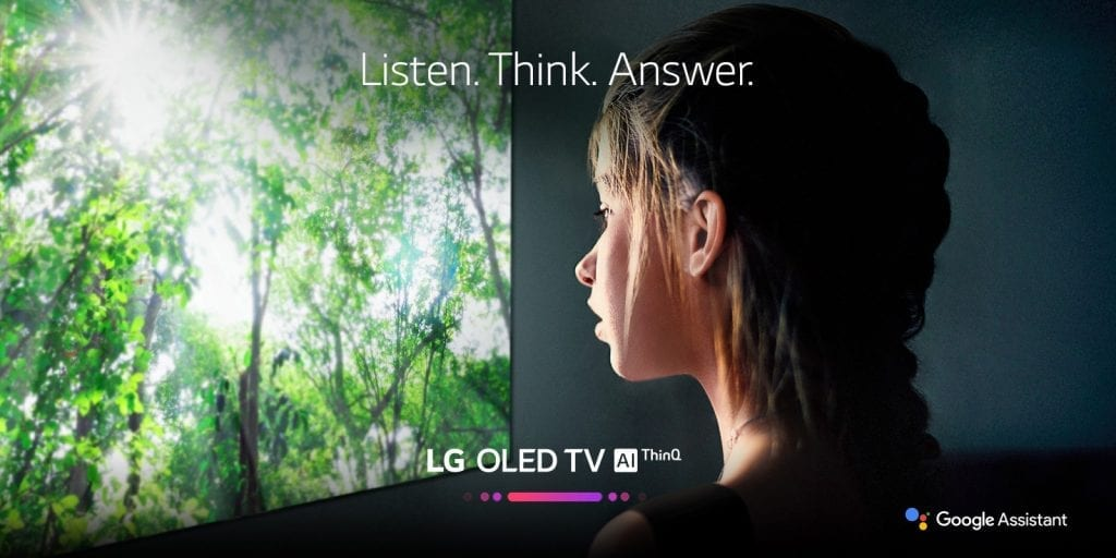 LG TV Google Assistant Launch