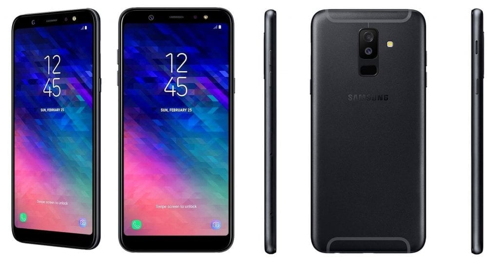 Samsung Galaxy A6+ leak