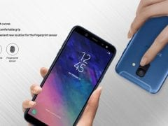 Samsung Galaxy A6 leak
