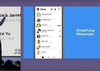 Simplifying Facebook Messenger app 2018