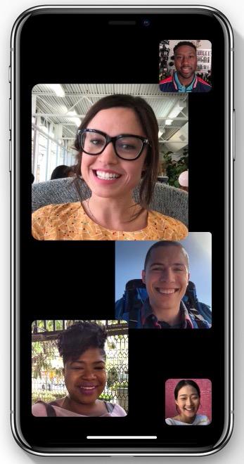 Apple iOS 12 Group FaceTime