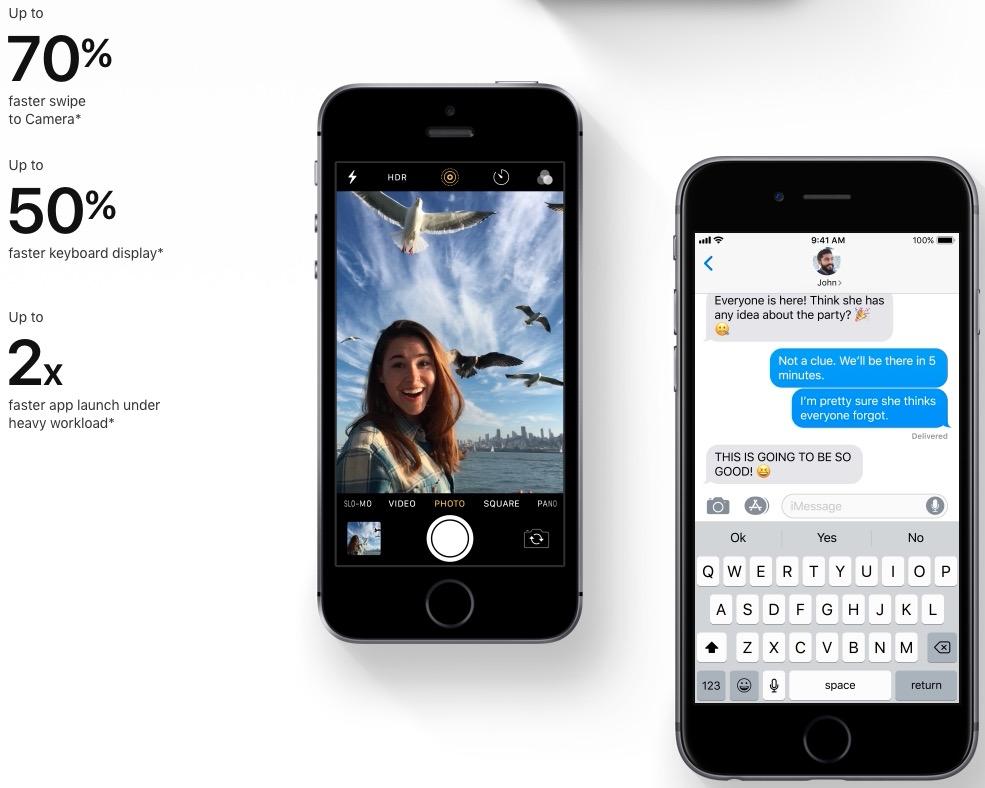 Apple iOS 12 load time