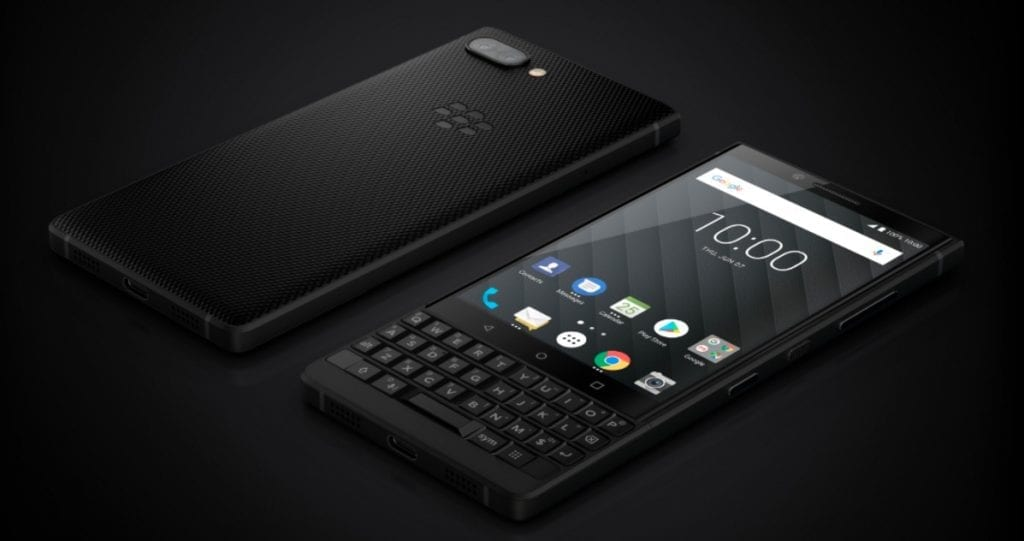 BlackBerry Key2 hero
