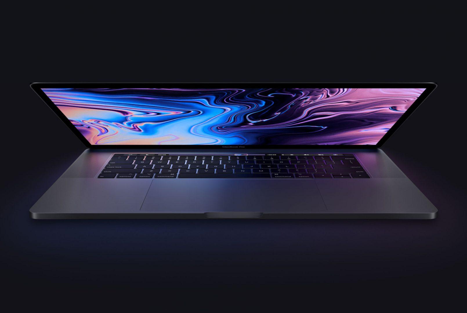 Apple MacBook Pro mid 2018 hero