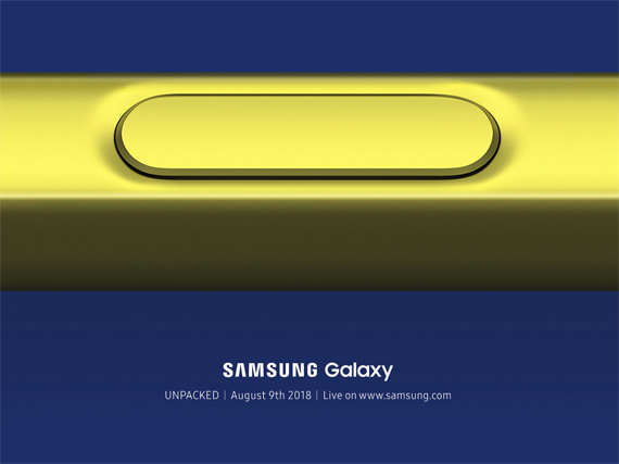 Samsung Galaxy Note 9 Augusy 9 Unpacked