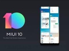 Xiaomi MIUI 10 version
