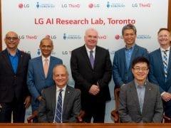 LG New AI Lab Executives