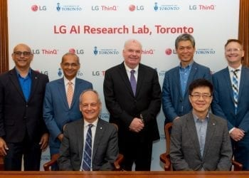 LG New AI Lab Executives
