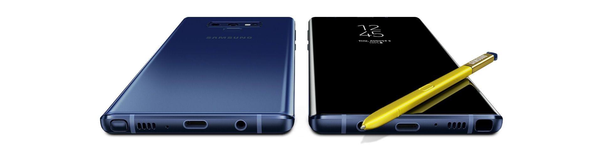 Samsung Galaxy Note9 angle