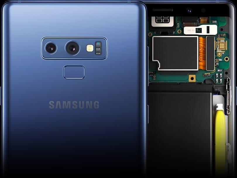 Samsung Galaxy Note9 hardware