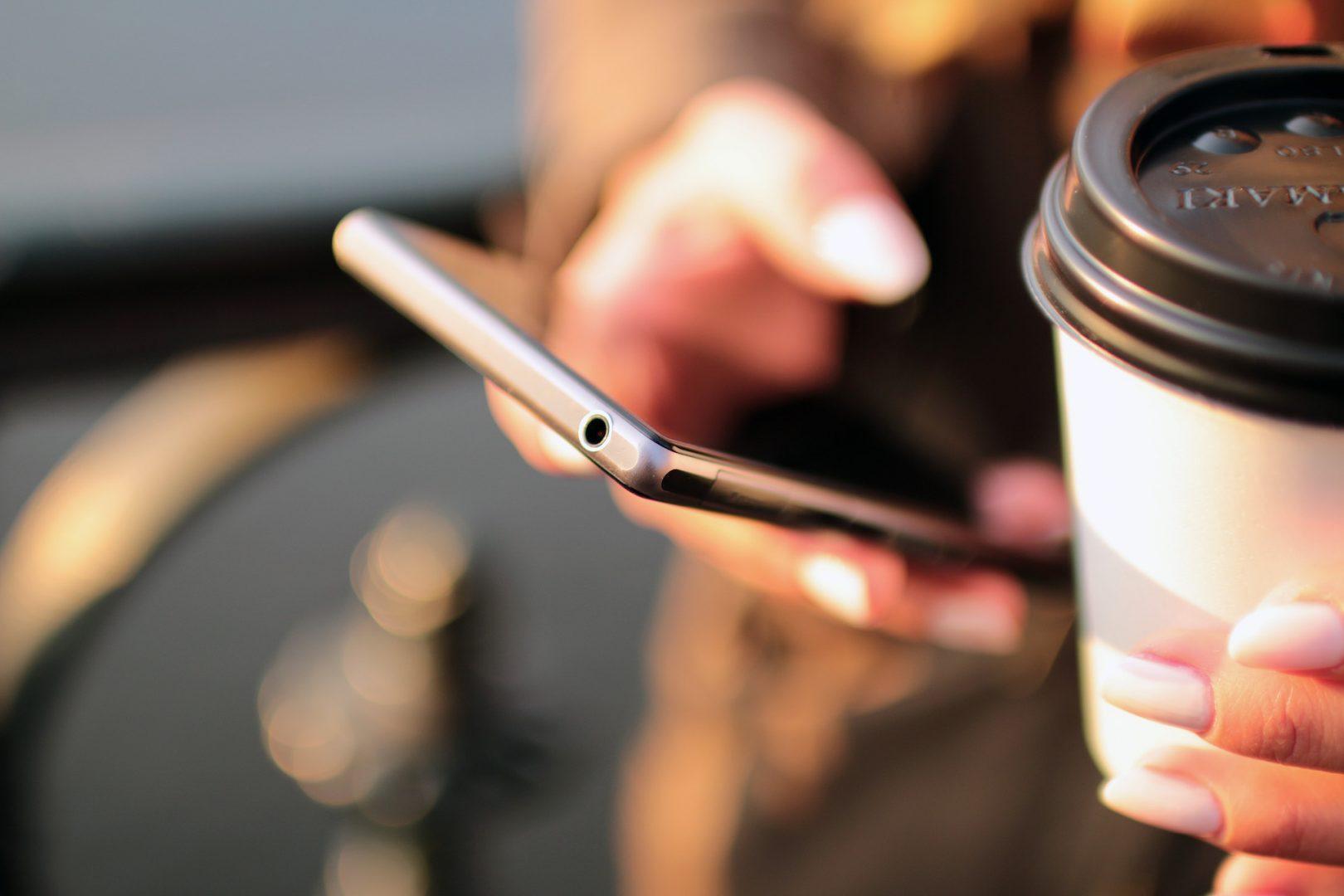 Smartphone coffee