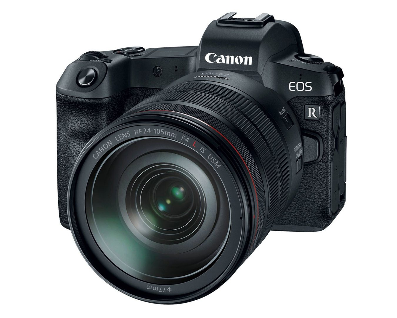 Canon EOS R front