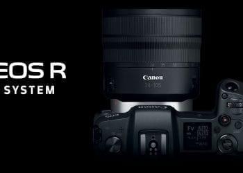 Canon EOS R hero