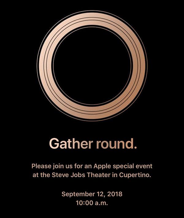 Apple 12 September 2018 event