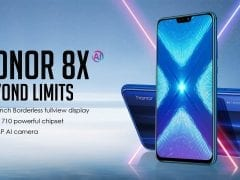 Huawei Honor 8X hero