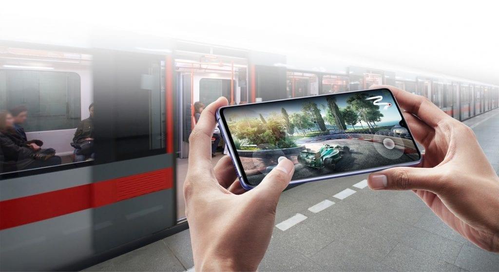 Huawei Mate 20 X gaming