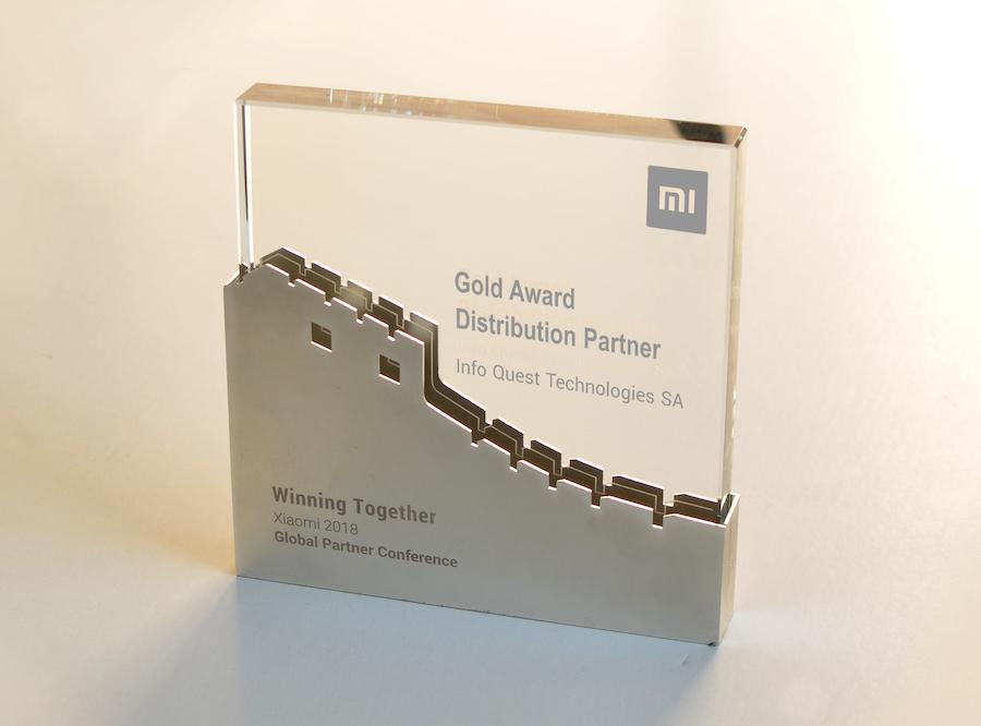 Info Quest Technologies Xiaomi award